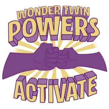 Image Result For Wonder Twin Powers Activate Images Twins Bday