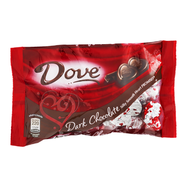 Dove Dark Chocolate Silky Smooth Heart Promises Reviews Find The Best Chocolate Products Influenster Dove Dark Chocolate Dark Chocolate Dove Chocolate