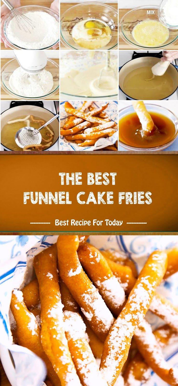 The Best Funnel Cake Fries Recipes Resep Makanan Resep Sederhana Resep Kue