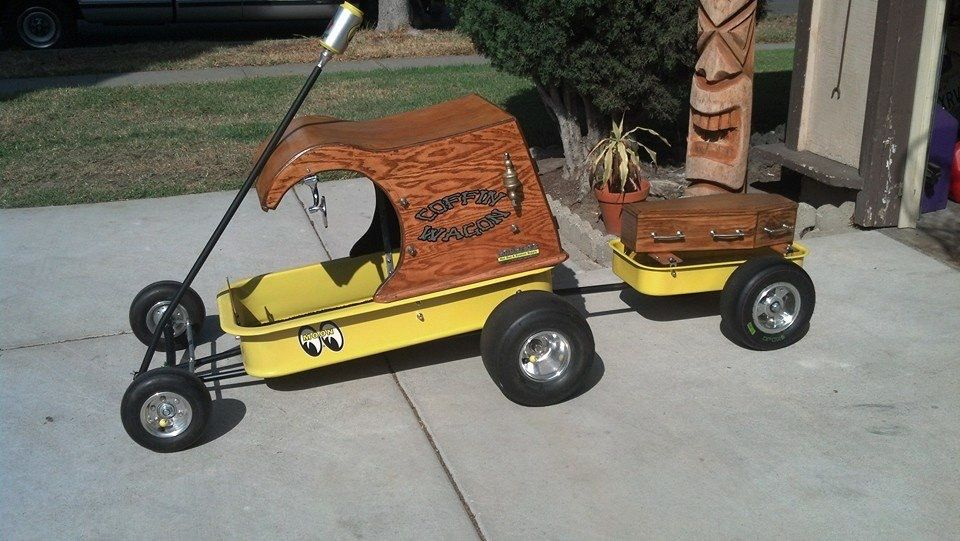 Tom Daniels inspiration Radio Flyers and other cool wagons - car flyers