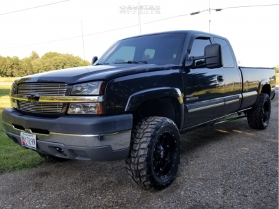 2003 Chevrolet Silverado 2500 Hd Classic Fuel Hostage Kumho Road