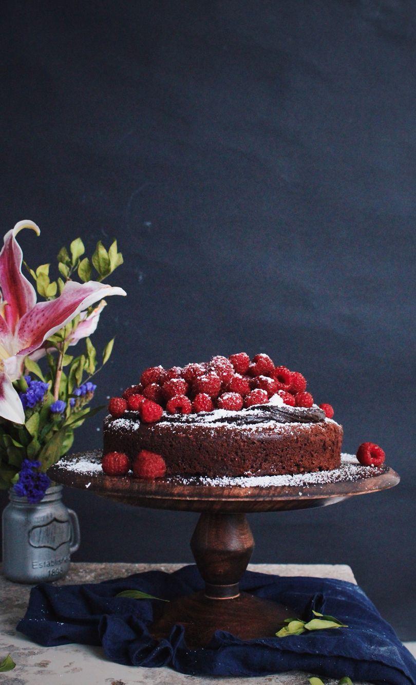 Dark Chocolate and Raspberry Torte with Chocolate Frosting {instagram.com/iwillexterminateyou}