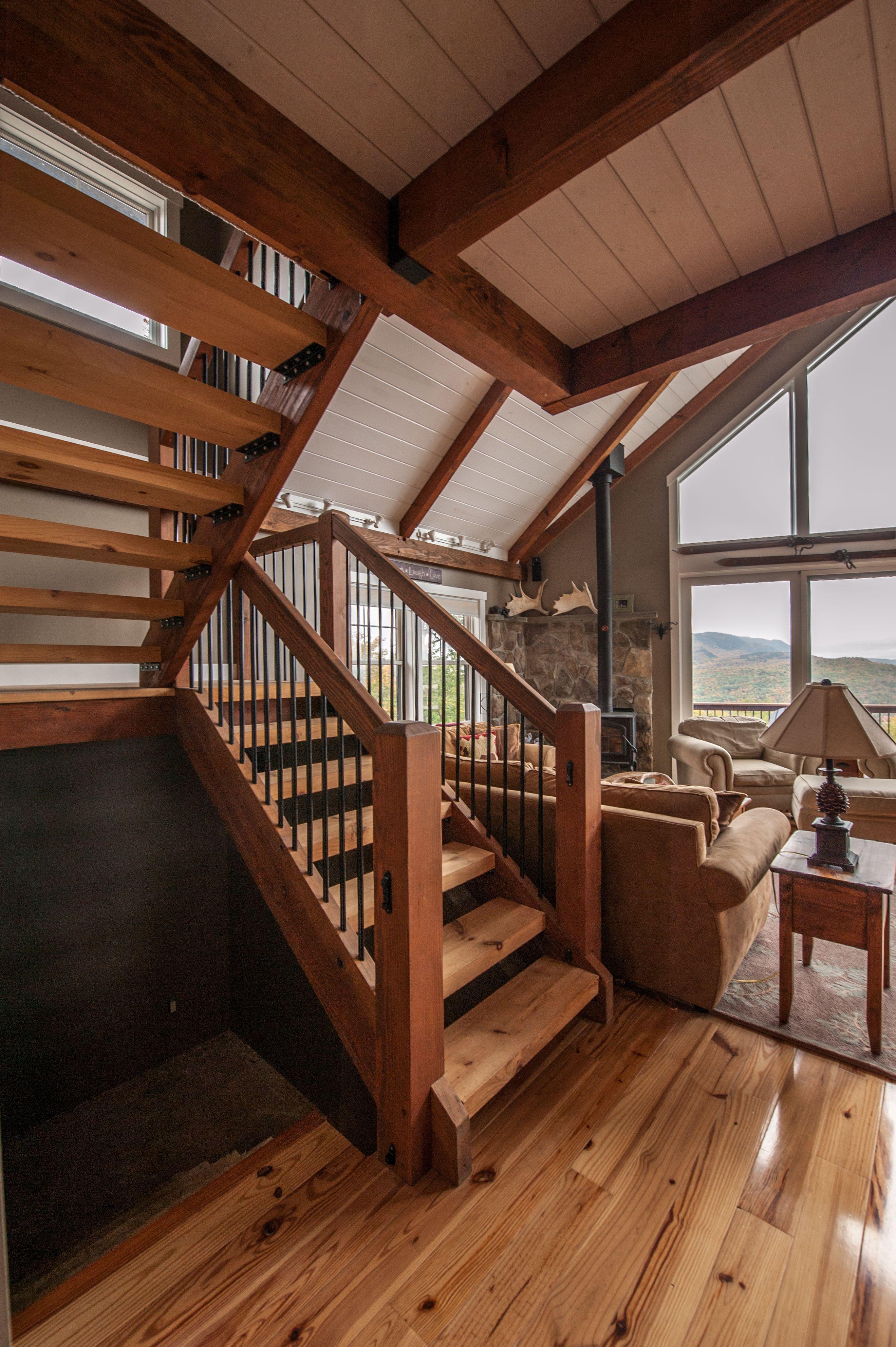 Moose Ridge Lodge Home Design Posts And Post And Beam - Post beam home designs