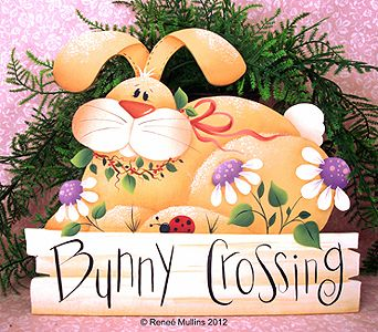 #135  Bunny Crossing (Pattern Packet)