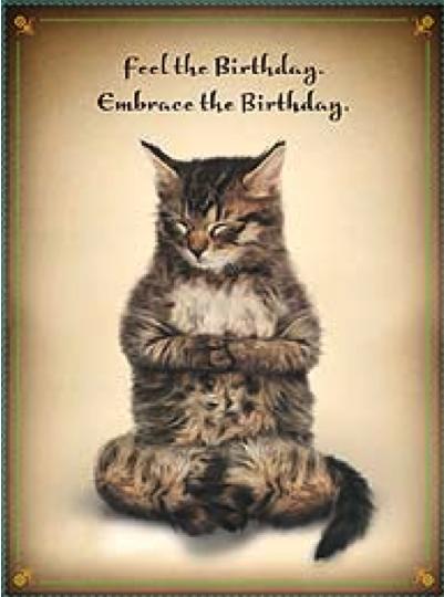 Birthday Kittens Saying Cute Happy