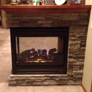 Totally Love Our New Gas Fireplace More Time In The Basement