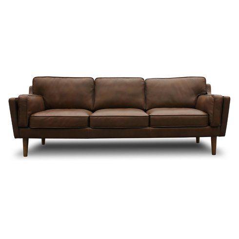 Lazy Boy Sofa Kaufman Mid Century Modern Leather Sofa