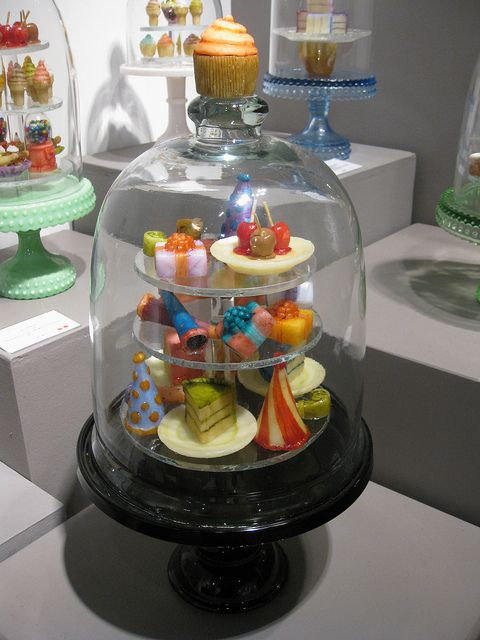 Glass Dessert Sculptures <3