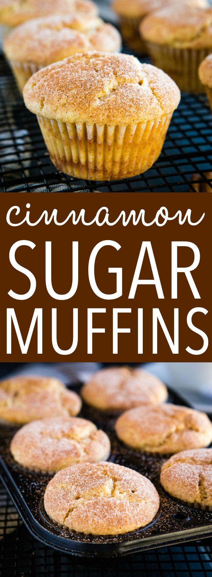 Photo of Cinnamon Sugar Muffins