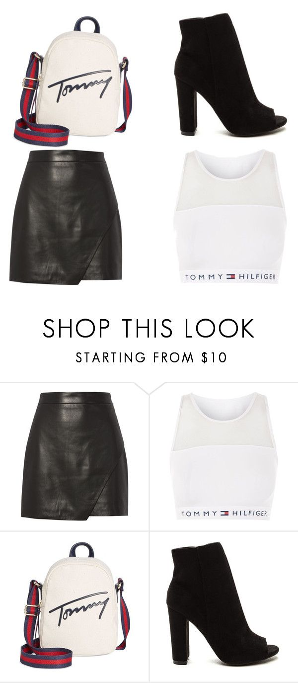 """Untitled #63"" by iamalyceparis on Polyvore featuring Michelle Mason, Topshop and Tommy Hilfiger"