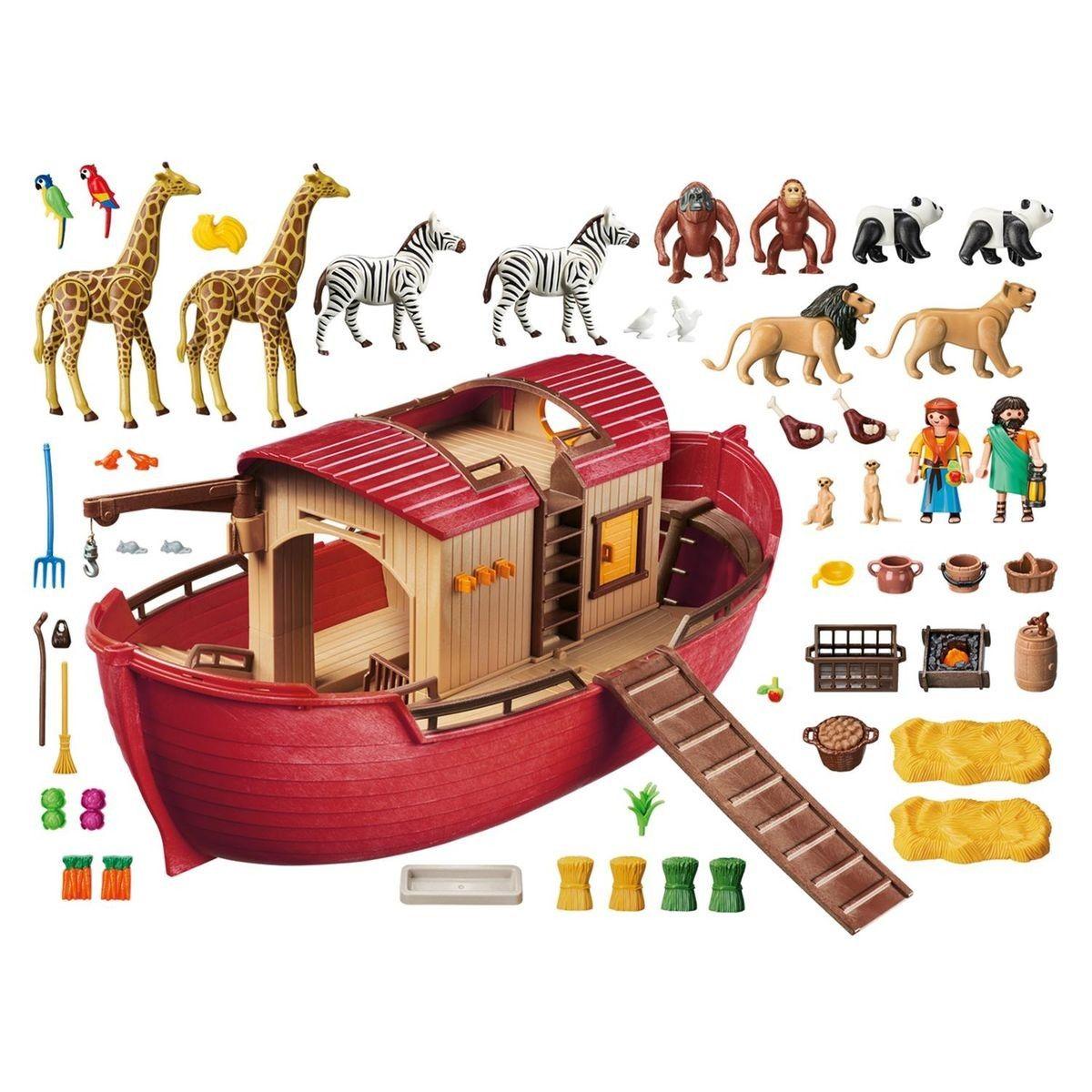 Wild Arche Playmobil 9373 AnimauxProducts Life De Noé Avec 4c5j3ARLq