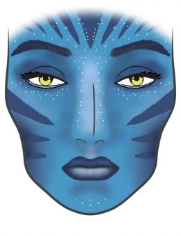 Avatar | Glamzy Spotlight #facechart #makeup #glamzy