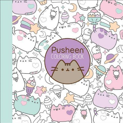 Read Reviews And Buy Pusheen Coloring Book By Claire Belton Paperback At Target Choose From Contactless Same Day Deliv Coloring Books Pusheen Book Pusheen