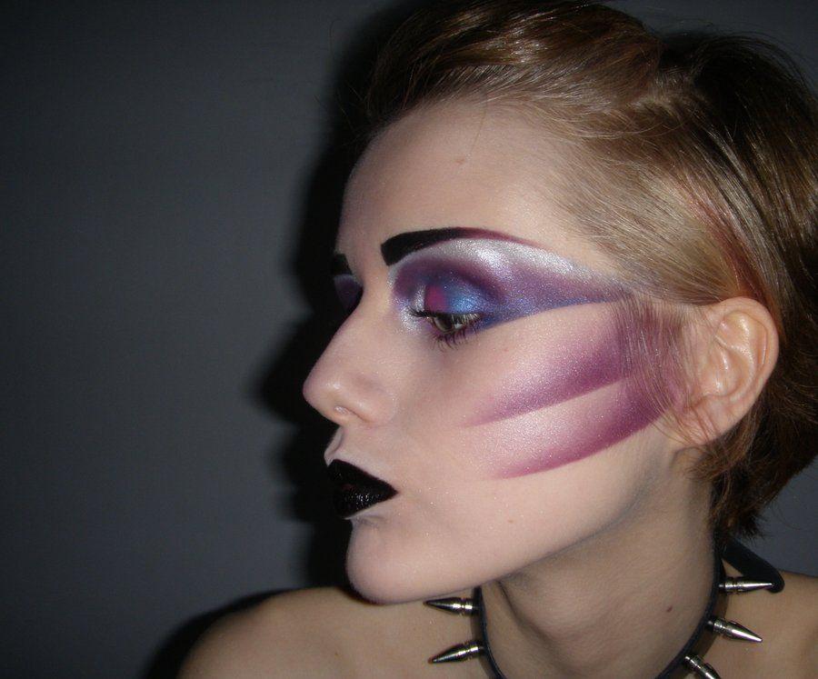 80 S Glam Rock Makeup - Mugeek Vidalondon