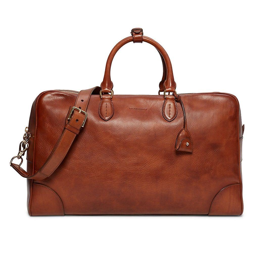 Ralph Lauren Weekender Vachetta Duffel Bag  eeb0b7aeae223