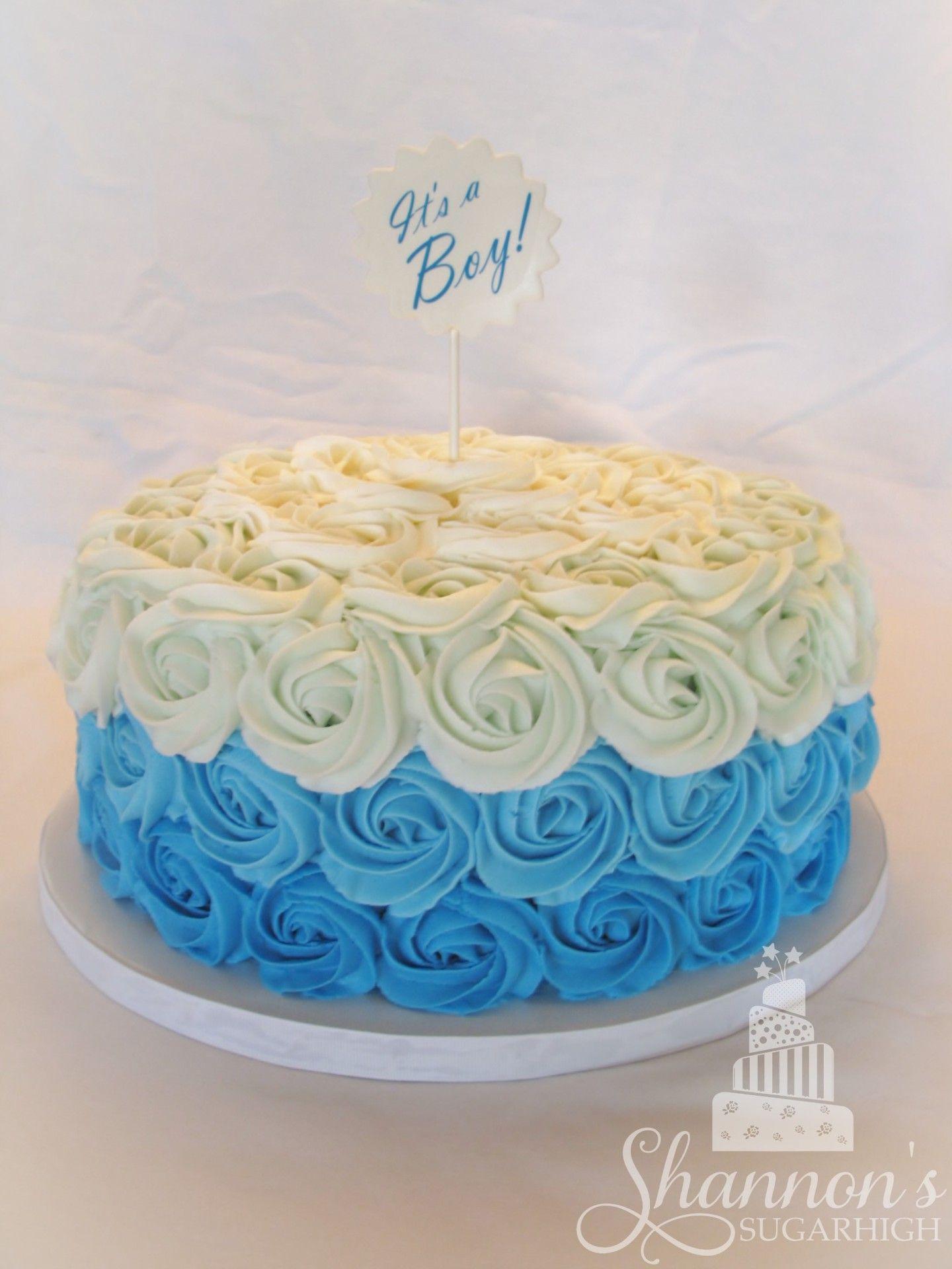Marlow Blue Elephant Birthday Cake