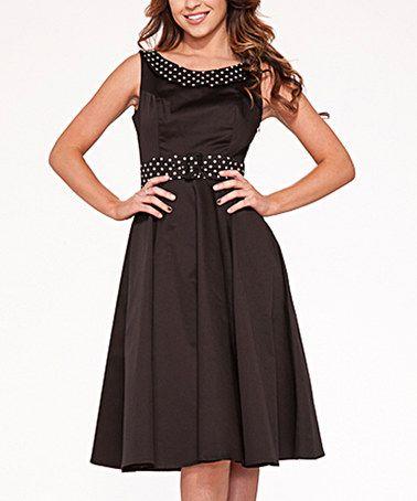 Loving this Black Recital Dress - Plus Too on #zulily! #zulilyfinds