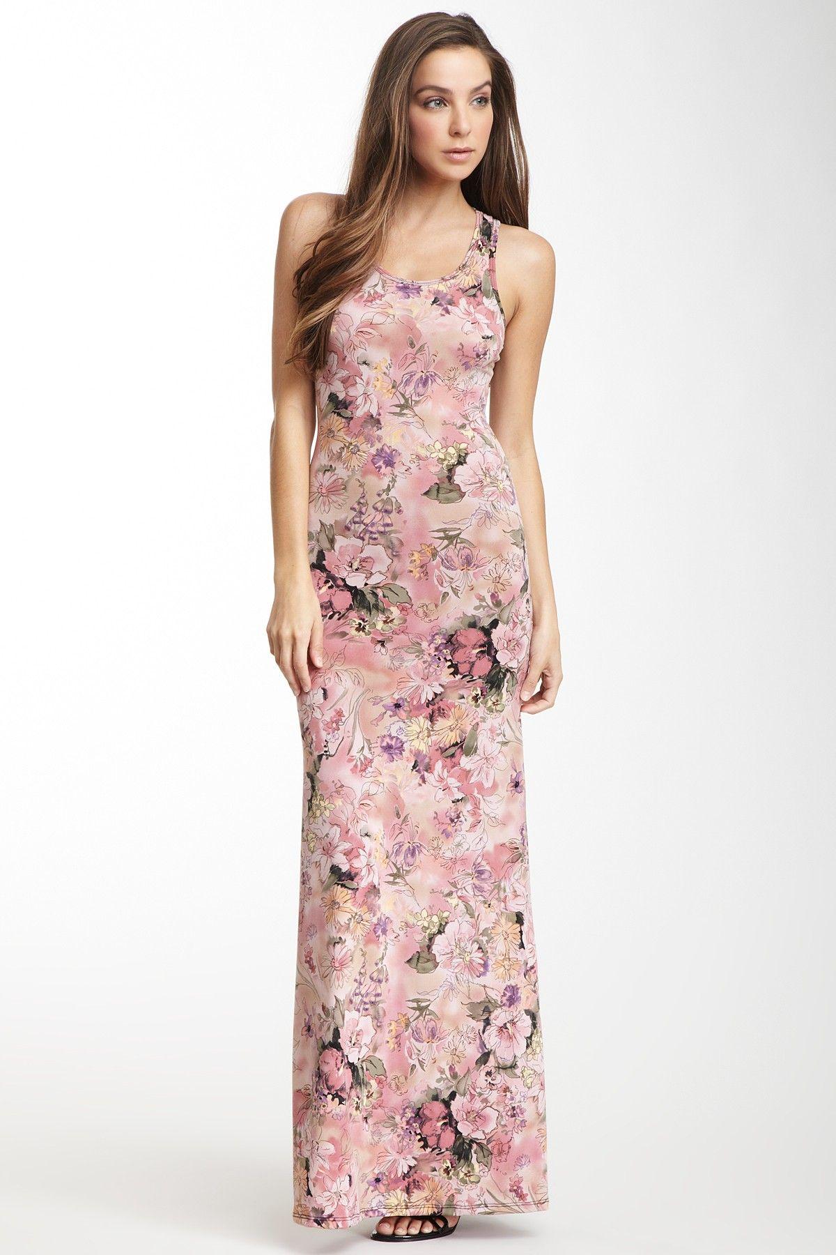 Go Couture Scoop Neck Maxi Dress | Fashion | Pinterest | Costura ...