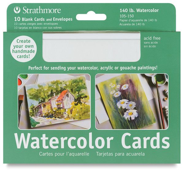 Strathmore Blank Watercolor Cards Watercolor Cards Watercolor