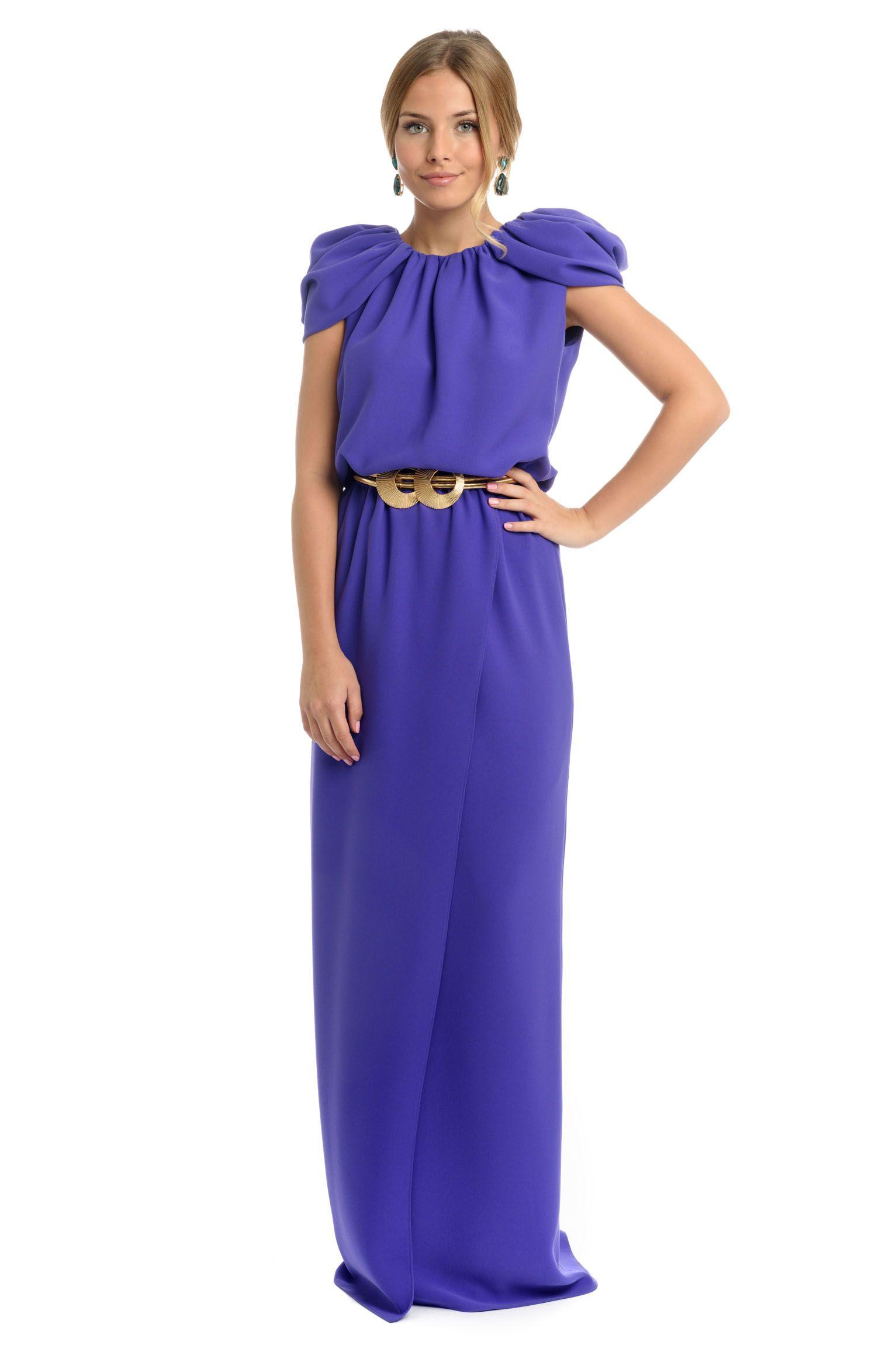 Vestido Corina largo petunia | Madrina | Pinterest | Nuevas
