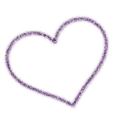 Purple Heart Transparent Background Purple Glitter Purple Flowers Glitter Hearts