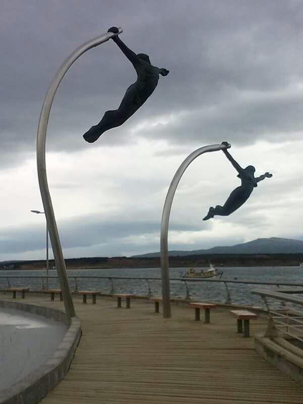 Puerto Natales city