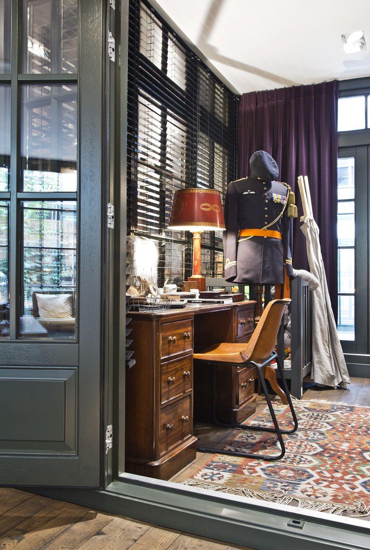 Retro Home Office! Ein einzigartiger Arbeitsplatz darf im Zuhause ...