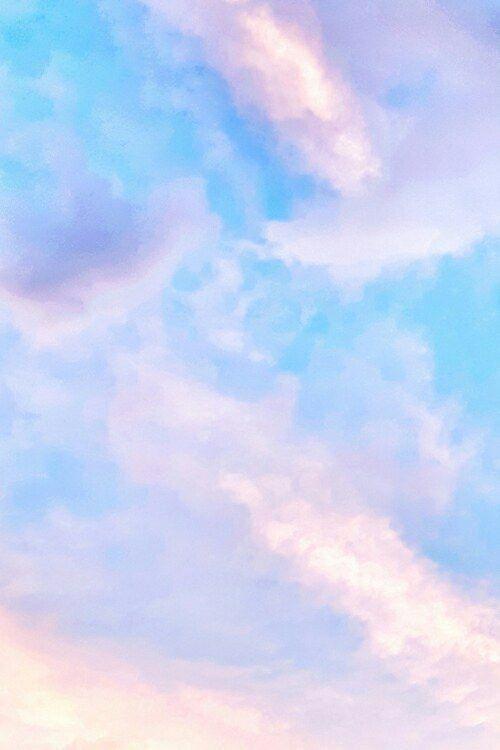 Astheticwallpaperiphonepastel Pastel Sky Blue Aesthetic Pastel