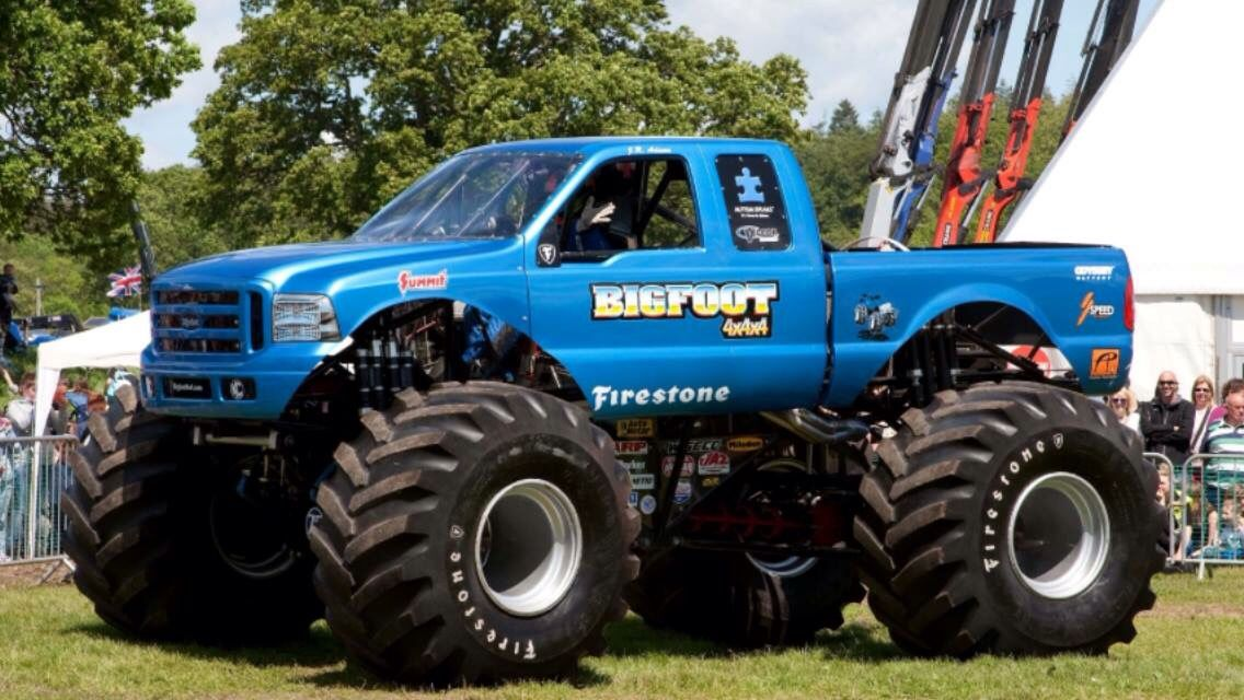 Classic Bigfoot With Images Monster Trucks Cool Trucks Ford