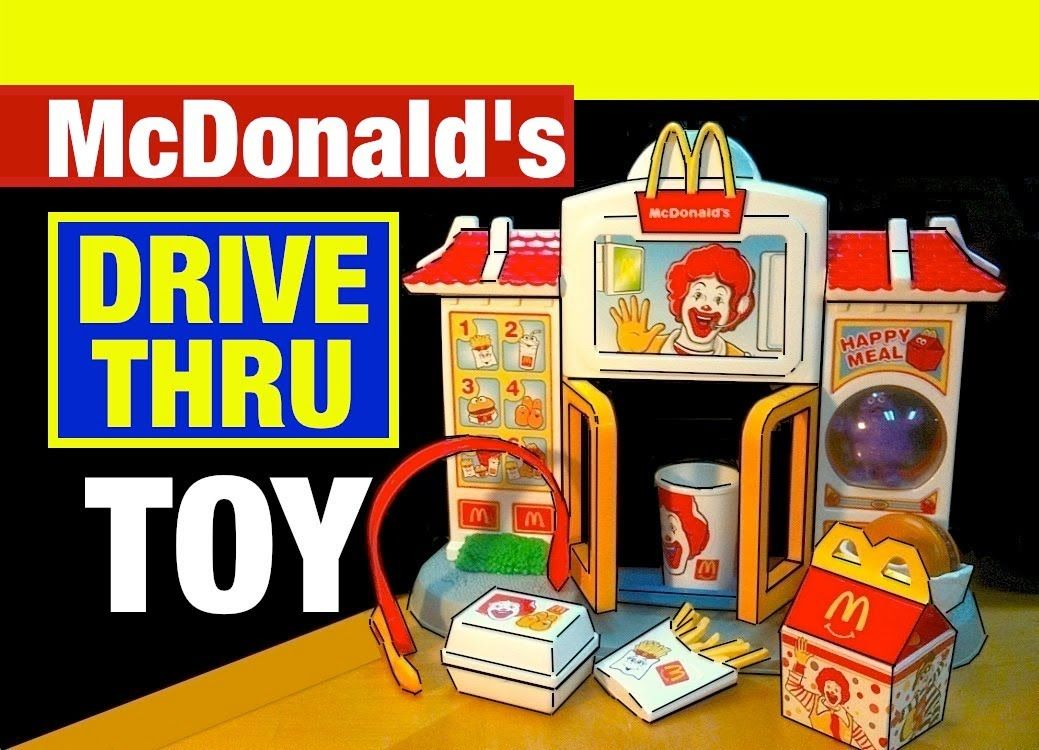 McDonald's Happy Meal Drive-Thru McDonalds Toys Review by Mike Mozart of...