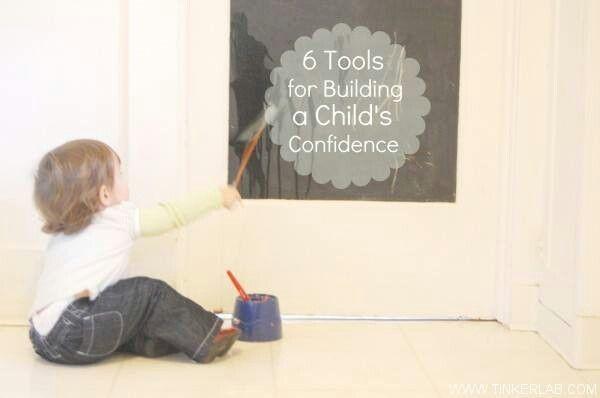 Tools build child confifence