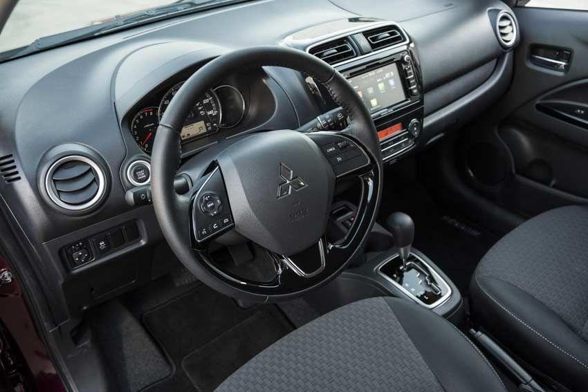 2017 Mitsubishi Mirage aktualisiert mit New Look, CarPlay