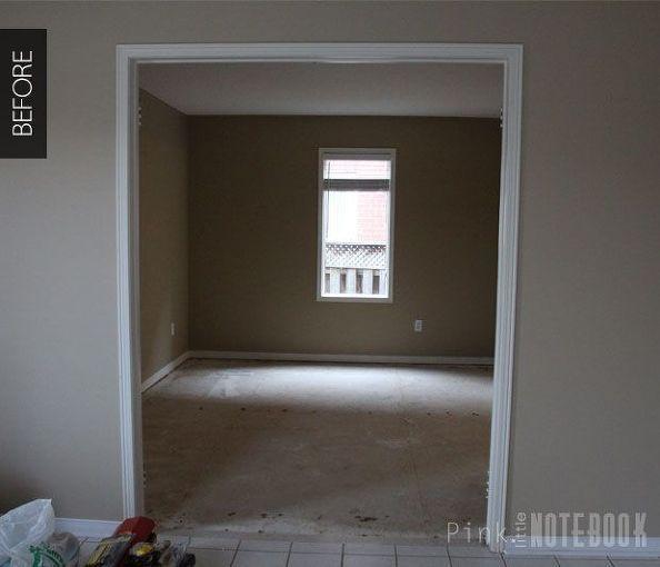 combined living dining room makeover, dining room ideas, diy, flooring, home decor, living room ideas