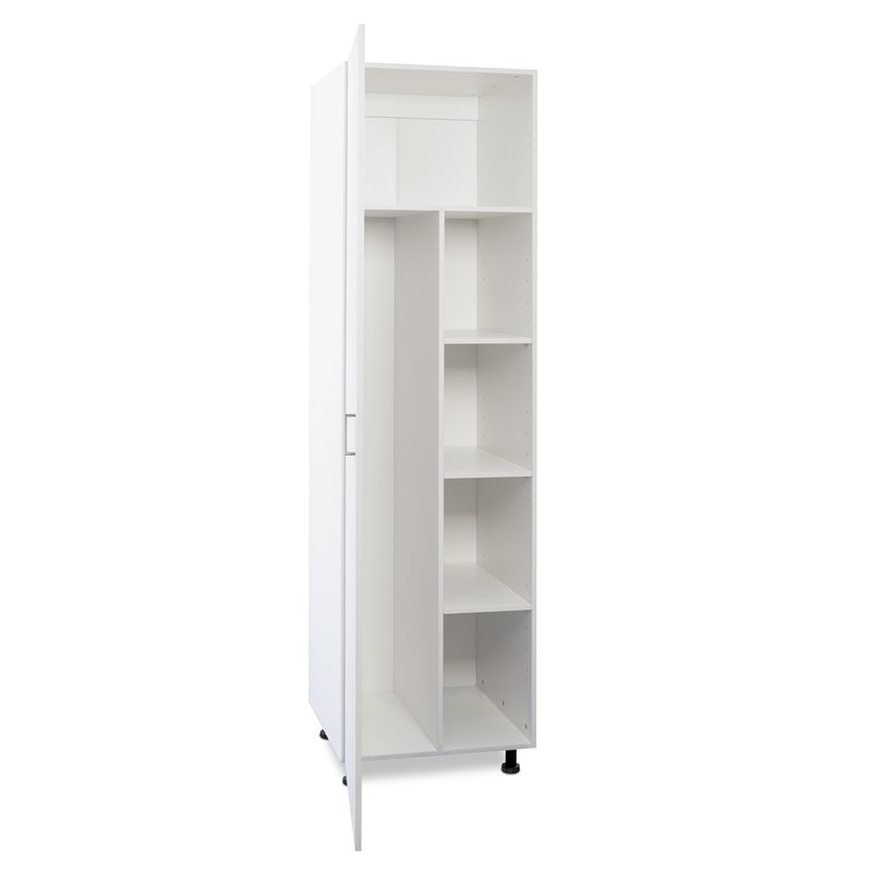 Broom Closet Cabinet Plans: Flatpax Utility 600mm 1 Door Broom Cupboard