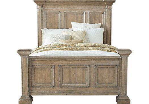 Eric Church Highway Home Arrow Ridge Hickory 3 Pc Queen Size Bed  Queen