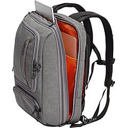 The TLS Professional Slim <b></i>Junior</i></b> follows on the enormous success of the original Professional Slim. We have a different point of view when it comes to a laptop backpack. Gone are the bungee cords, exterior mesh pockets, carabineer clips, and all of the other bling that has no place in a professional setting. The Slim Junior includes all of the same incredible features, but in a smaller size. We've kept an all-black dress code that does...