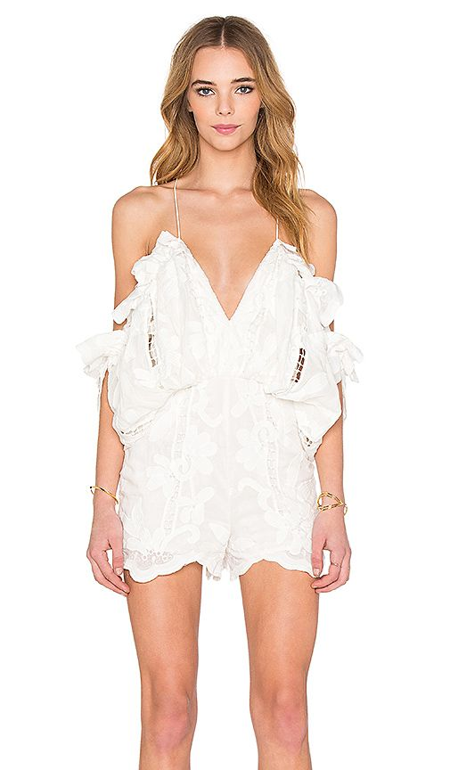 756c603b1b4 Shop for Alice McCall Shake It Off Romper in Porcelain at REVOLVE. Free 2-3  day shipping and returns