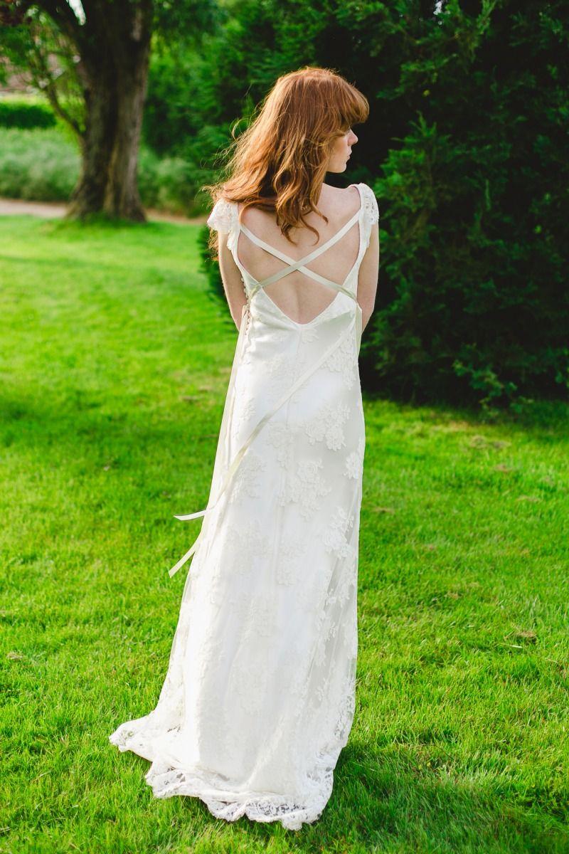 Back view lace wedding dress by dana bolton wedding dresses co back view lace wedding dress by dana bolton ombrellifo Gallery