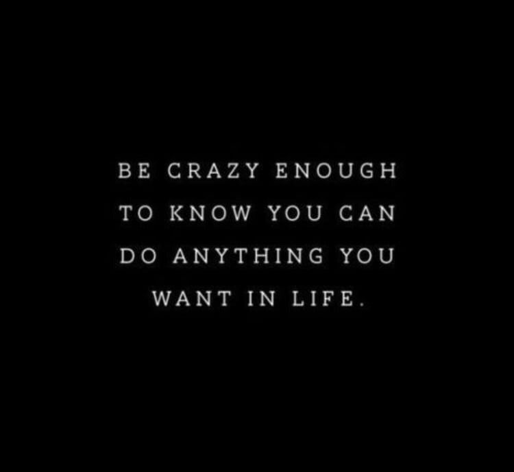 Thepersonalquotes Love Quotes Life Quotes Be Crazy Enough To
