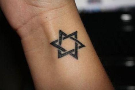 Estrella De David Lienzo Humano Tattoos David Tattoo Y Star Of