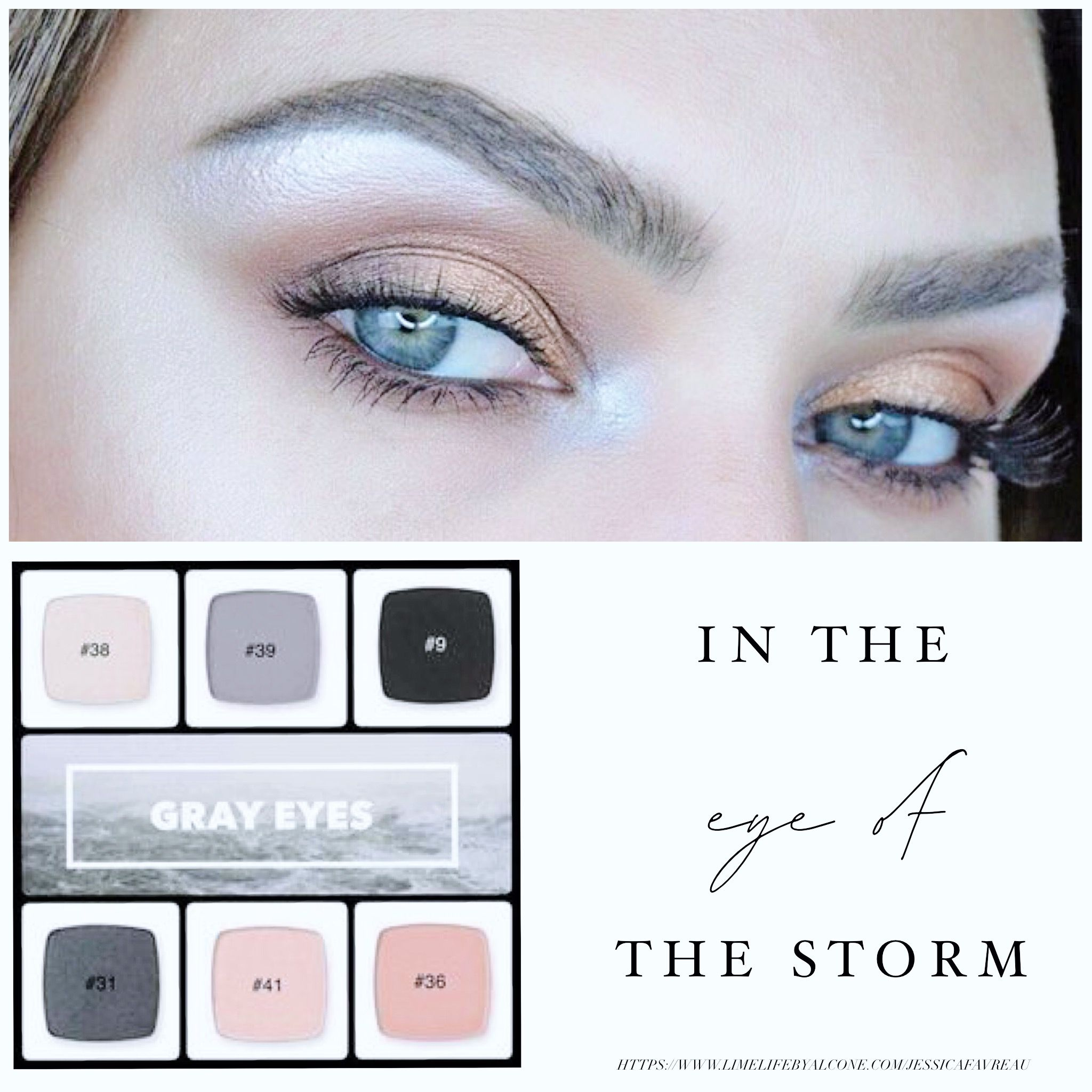 Customize your own palette for your eye color! Eyeshadow