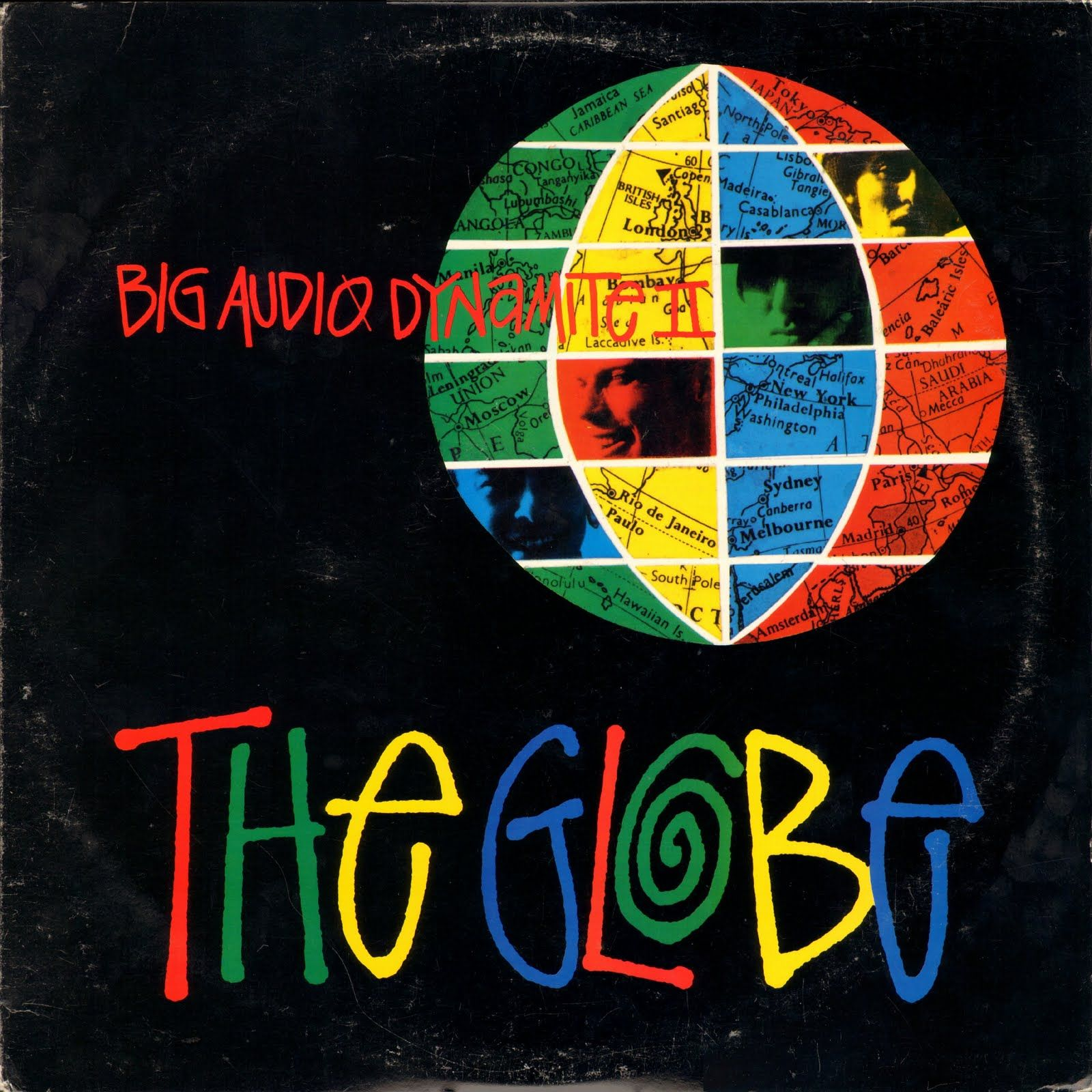Big Audio Dynamite II The Globe Rock cover, Alphabet