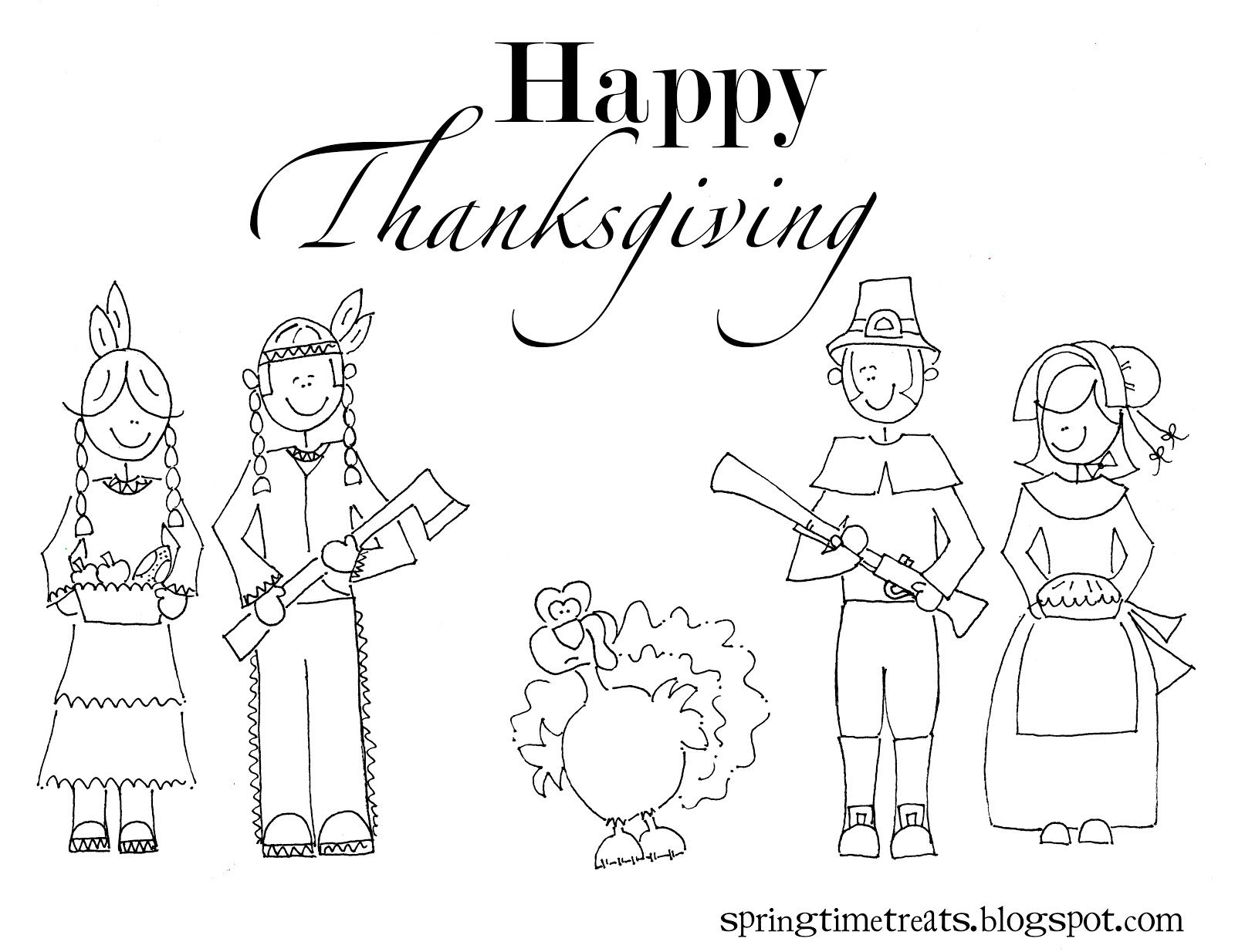 cute turkey coloring pages | Also here is a silly coloring page ...
