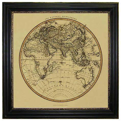 Buy brookpace vintage maps collection eastern hemisphere framed buy brookpace vintage maps collection eastern hemisphere framed print 91 x 91cm online at johnlewis library pinterest vintage maps john lewis gumiabroncs Image collections