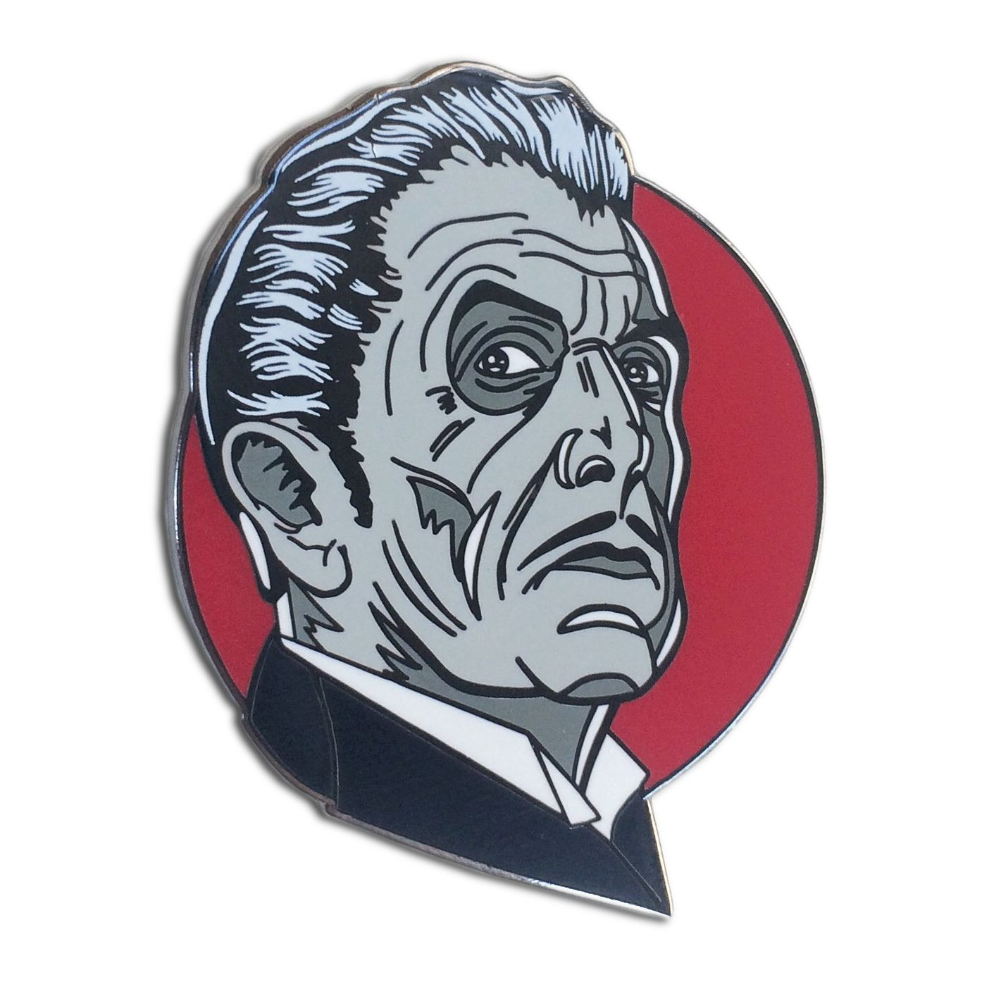 Superior King Of Horror   Lapel Pin