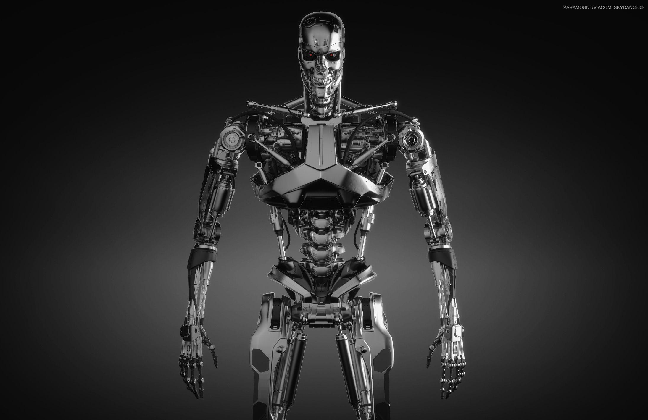 Терминатор картинки скелет