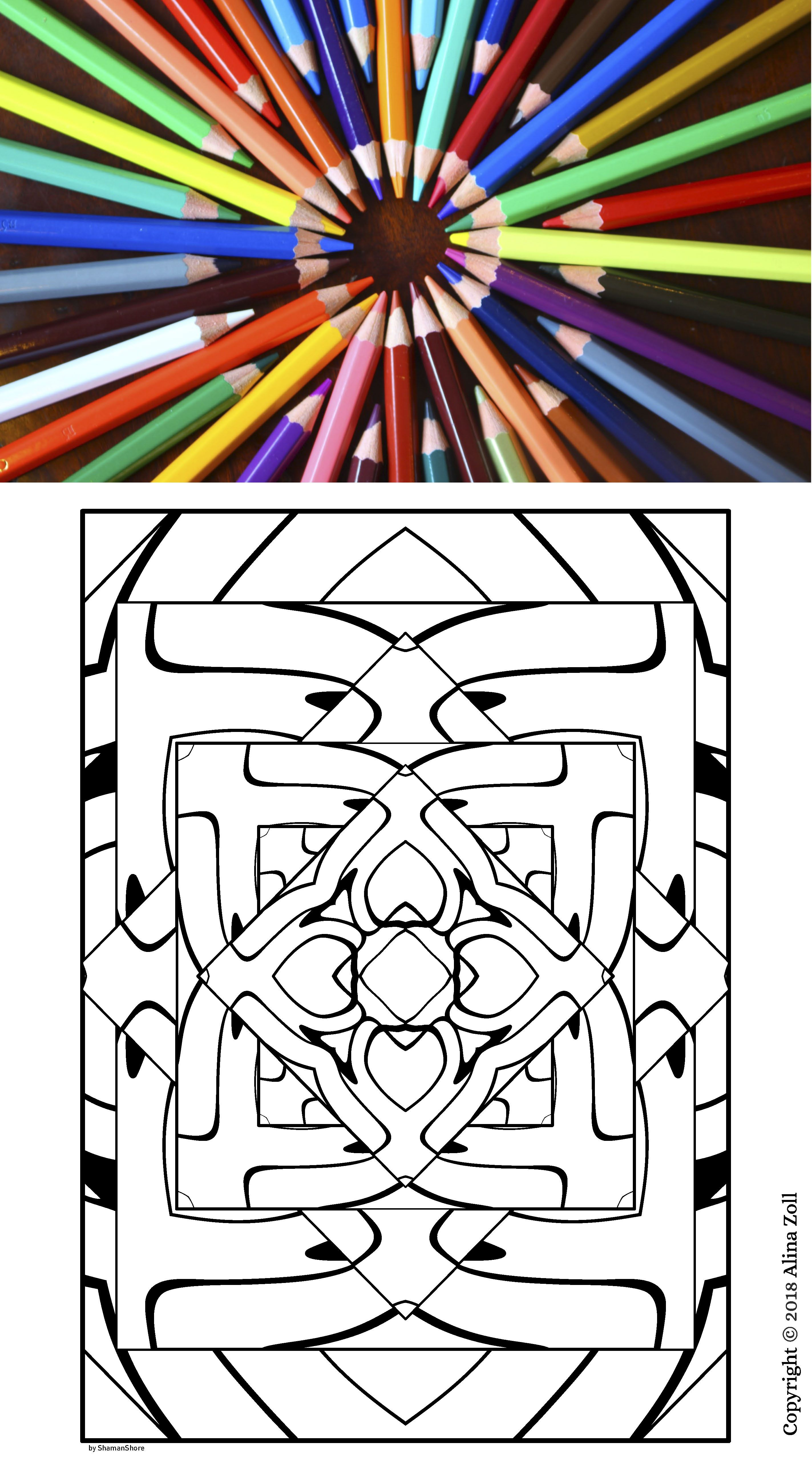 Adult Coloring Book Pdf 20 Adult Coloring Pages Printable Abstract