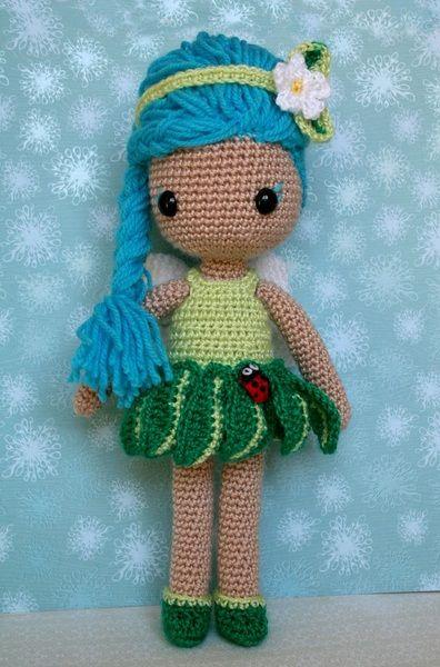Springy, el hada de la primavera de Rosebud por DaWanda.com ☆