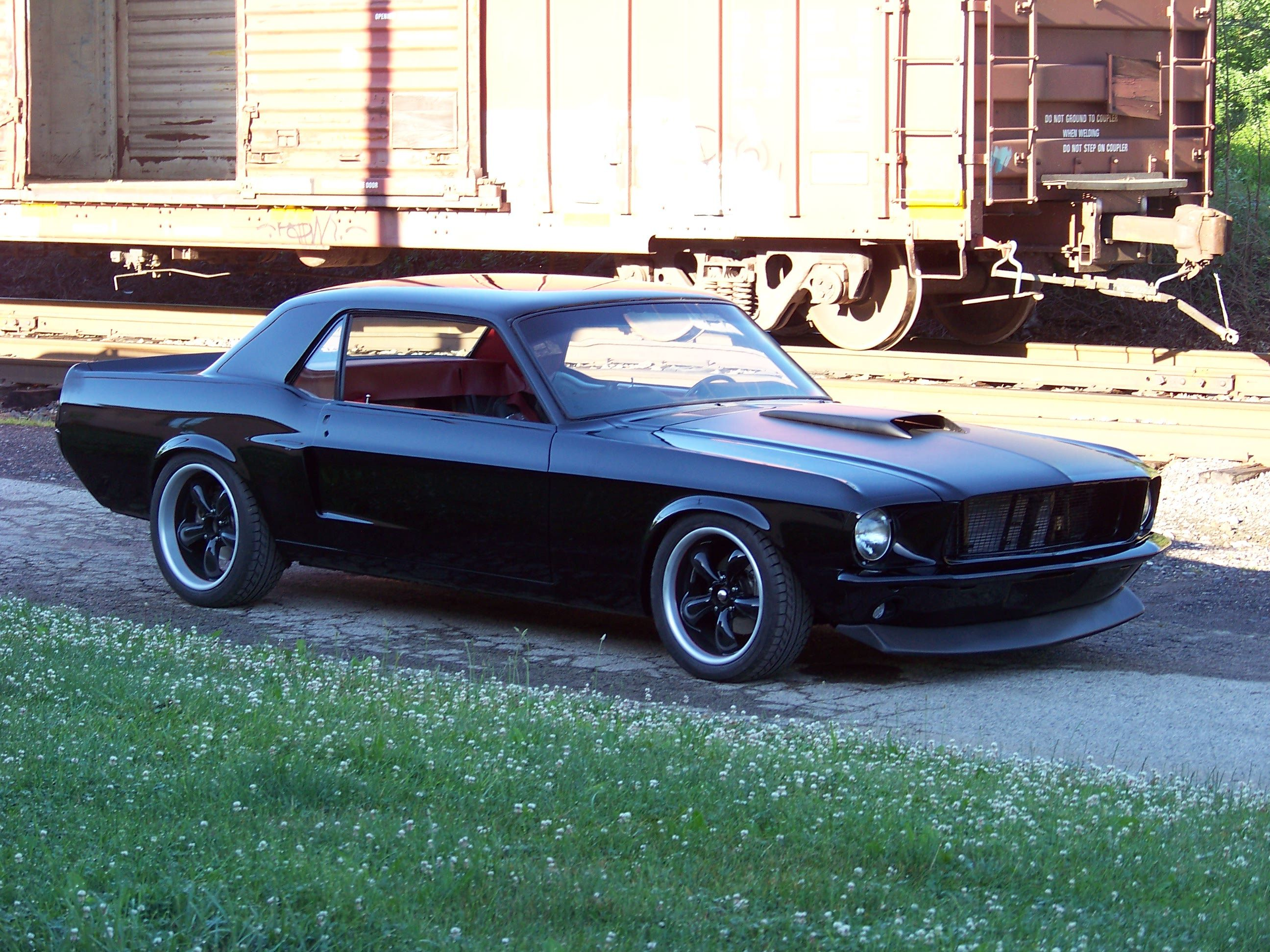 1968 Ford Mustang Coupe Bent Metal Customs Ford Mustang Coupe Mustang Coupe Ford Mustang Shelby Gt