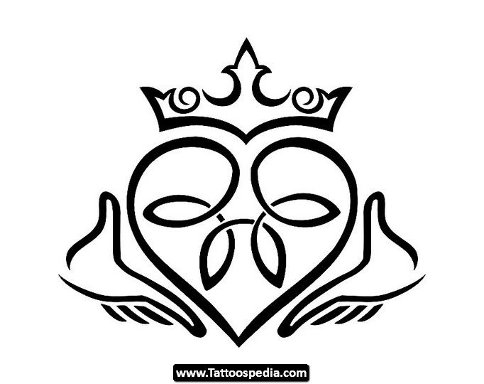 Claddagh Tattoo Claddagh Drawing Irish Claddagh Symbol